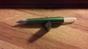 Rook with Kaweco sport converter attached. Doesn't fit.