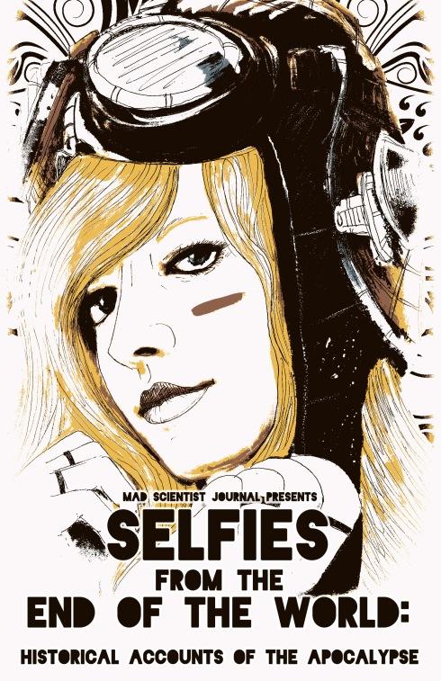 Selfies Art plus text