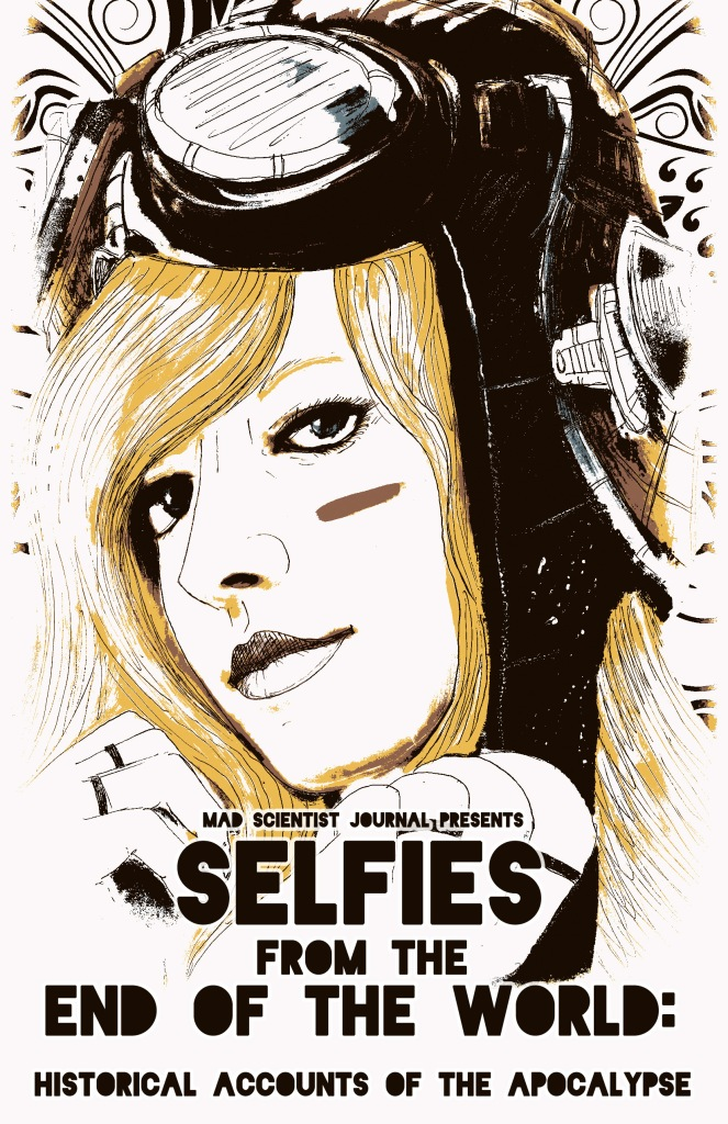 Selfies Art plus text